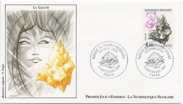 France 1986 Minerals FDCg