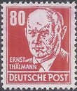 Germany DDR 1952 Famous People n