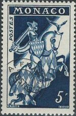 Monaco 1957 Knight a