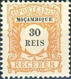 Mozambique 1904 Postage Due Stamps d