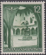 Poland-General Government 1940 Buildings (1st Group) d