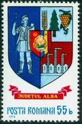 Romania 1976 Coat of Arms of Romanian Districts a
