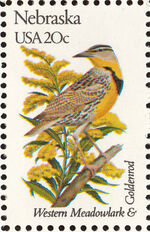 United States of America 1982 State birds and flowers y