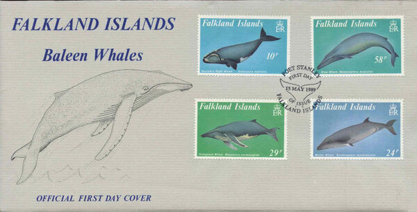 Falkland Islands 1989 Whales h