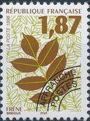 France 1996 Leaves - Precanceled a