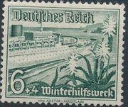Germany-Third Reich 1937 Winter's Fund - Ships c