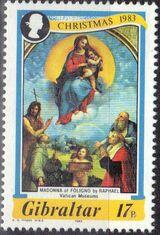 Gibraltar 1983 Christmas b