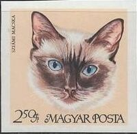 Hungary 1968 Domestic Cats ag
