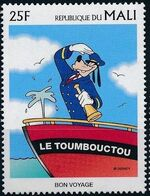 Mali 1997 Greetings Stamps - Walt Disney Characters a