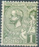 Monaco 1891 Prince Albert I a
