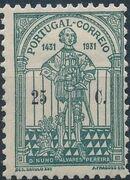 Portugal 1931 5th Centenary of the Death of St. Nuno Álvares Pereira b