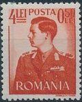 Romania 1942 King Michael I - Semi-Postal (2nd Group) b