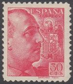 Spain 1939 General Franco - 1st Group c