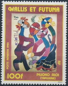 Wallis and Futuna 1982 Tapestry a