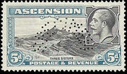 Ascension 1934 George V and Sights of Ascension p