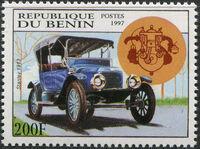 Benin 1997 Antique Automobiles c