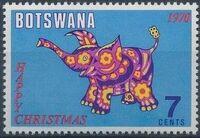 Botswana 1970 Christmas c