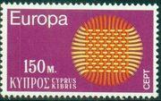 Cyprus 1970 EUROPA - CEPT c