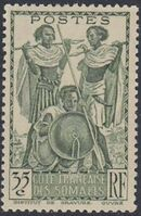 French Somali Coast 1938 Definitives j