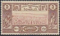 French Somali Coast 1938 Definitives t