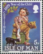 Isle of Man 1979 Christmas and International Year of Child a