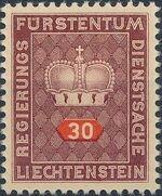 Liechtenstein 1950 Crown d