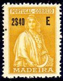 Madeira 1929 Ceres (London Issue) r