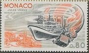 Monaco 1978 Birth Sesquicentennial of Jules Verne d