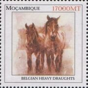 Mozambique 2002 The Wonderful World of Horses d