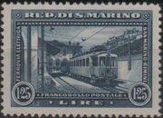 San Marino 1932 New Electric Railway Between San Marino and Rimini c