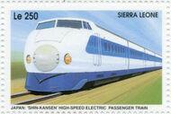Sierra Leone 1995 Railways of the World 3i