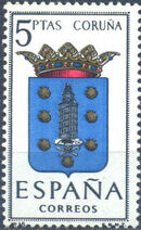 Spain 1963 Coat of Arms - 2nd Group c