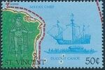 St Vincent 1989 500th Anniversary of Discovery of America 1992 m
