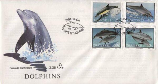 Transkei 1991 Dolphins e