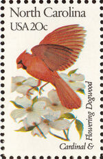 United States of America 1982 State birds and flowers ze