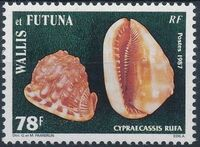 Wallis and Futuna 1987 Sea Shells f