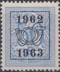 Belgium 1962 Heraldic Lion with Precancellations h