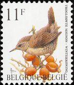 Belgium 1992 Birds (A) a