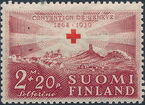 Finland 1939 75th Anniversary of the International Red Cross Society c