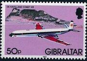 Gibraltar 1982 Airplanes l