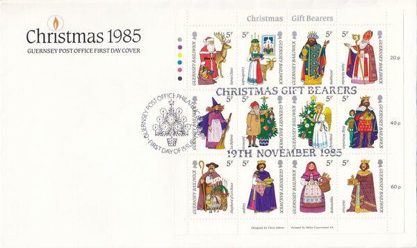 Guernsey 1985 Christmas x