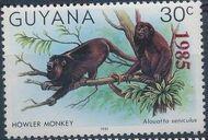 Guyana 1985 Wildlife (Overprinted 1985) b