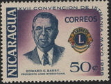Nicaragua 1958 17th Convention of Lions International of Central America d