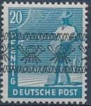 British and American Zone 1948 Overprinted with Posthorn Ribbon h