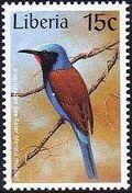 Liberia 1997 Birds g