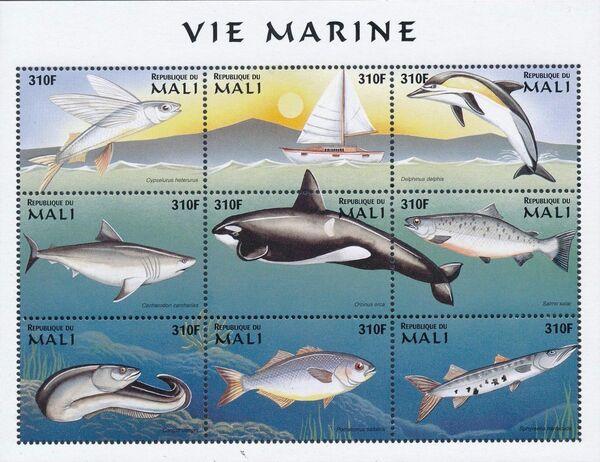Mali 1997 Marine Life zr