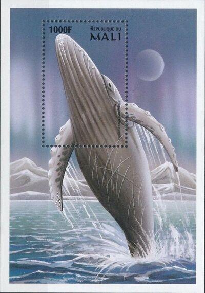 Mali 1997 Marine Life zt