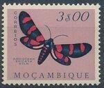 Mozambique 1953 Butterflies and Moths m