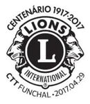 Portugal 2017 100 Years of Service of Lions Clubs International PMc