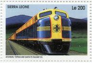 Sierra Leone 1995 Railways of the World e
